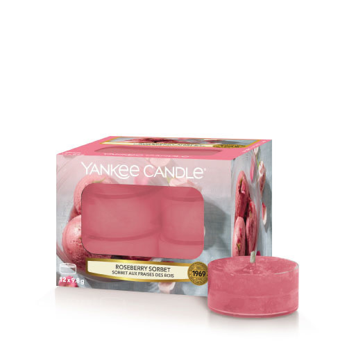 Yankee Candle Roseberry Sorbet Tea Light