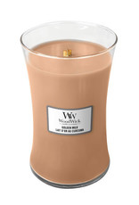 WoodWick Golden Milk large Candle