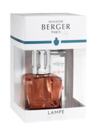 Lampe Berger Ice Cub Clacon Rose + 250ml Amour d' Hibiscus