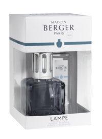 Lampe Berger Ice Cub Clacon Gris + 250ml Thé Pur Blanc