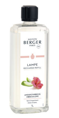 Lampe Berger Amour D'Hibiscus 1L