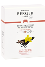 Maison Berger Navulling autoparfum 2 stuks Vanilla Gourmet