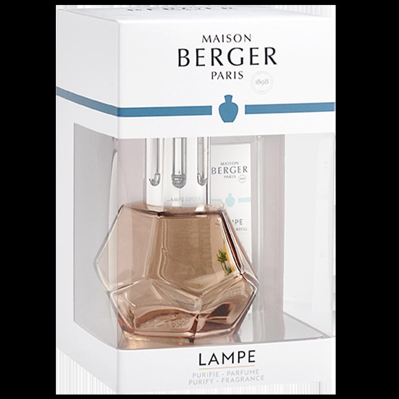 Lampe berger Geometry Giftset Honey & 250ml Amber Powder