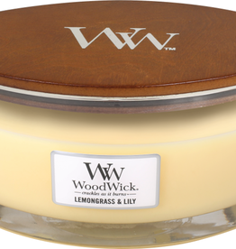 WoodWick Lemongrass & Lily Ellipse