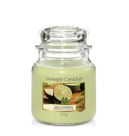 Yankee Candle Medium Jar Lime & Coriander