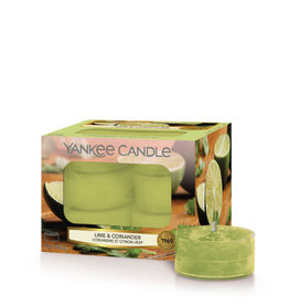 Yankee Candle Tea Light Candles Lime & Coriander