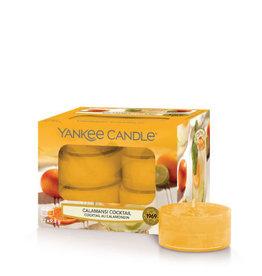 Yankee Candle Tea Light Candles Calamansi Cocktail