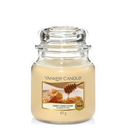 Yankee Candle Medium Jar Sweet Honeycomb