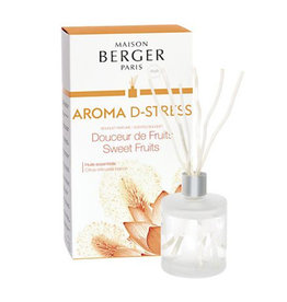 Aroma D-Stress Sweet Fruits Parfumverspreider Maison Berger Paris 180ml