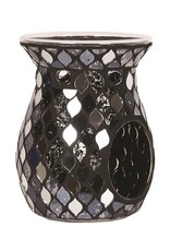 Crackle Burner Black Mirror Teardrop