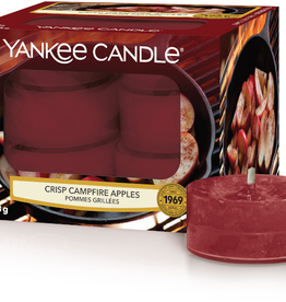 YC Crisp Campfire Apples Tea Lights 12 st.