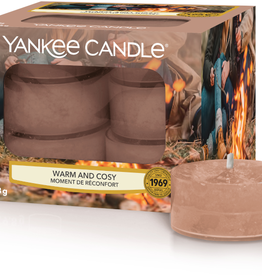 YC Warm & Cosy Tea Lights 12 st.