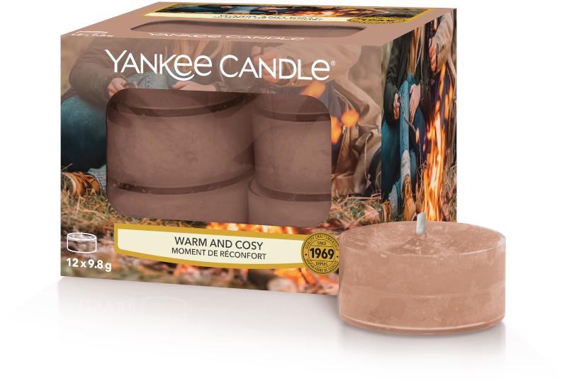 YC Warm & Cosy Tea Lights 12 st.