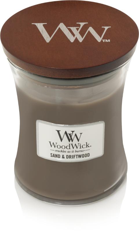 WW Sand & Driftwood Medium Candle