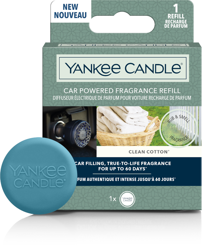 YC Clean Cotton Car Powered Fragrance Diffuser Refill