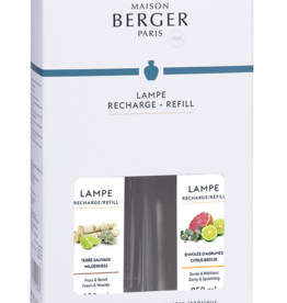 Lampe Berger Duopack Terre Sauvage & Envolée d' Agrumes