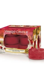 Yankee Candle Tea Light Candles Christmas Morning Punch