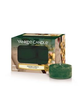 Yankee Candle Tea Light Candles Singing Carols