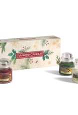 Yankee Candle Christmas Gift Set 3 Small Jar Geurkaarsen