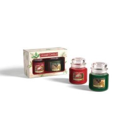 Yankee Candle Christmas Gift Set 2 Medium Jar Geurkaarsen