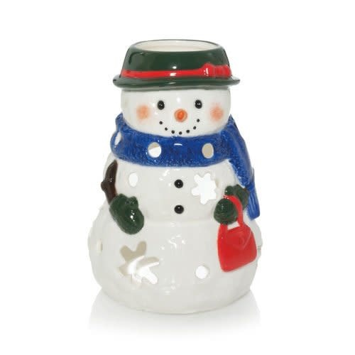 Yankee Candle Christmas Tea Light Holder Snowwoman