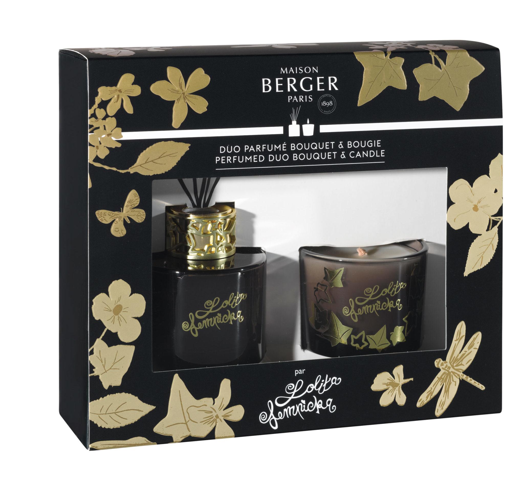 Maison Berger Duo Mini Set Black Edition Lolita Lempicka