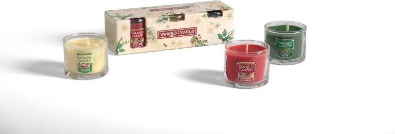 YC Magical Christmas Morning 3 Filled Votives