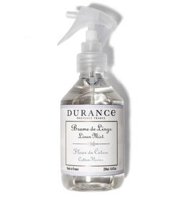 Durance Linnenmist spray katoenbloem 250ml