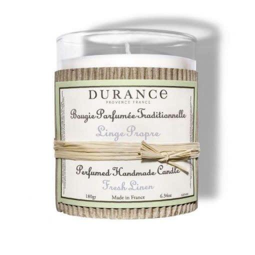 Durance Geurkaars handgemaakt 180 gr Fresh Linen