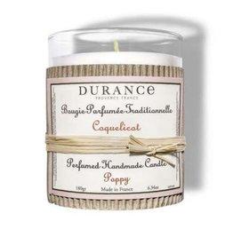 Durance Geurkaars handgemaakt 180 gr Poppy