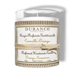 Durance Geurkaars handgemaakt 180 gr Cinnamon Orange
