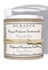 Durance Geurkaars handgemaakt 180 gr Linen Flower