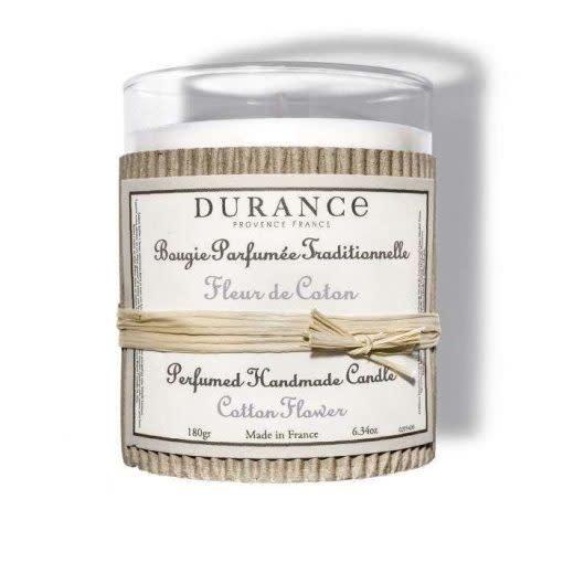 Durance Geurkaars handgemaakt 180 gr Cotton Flower
