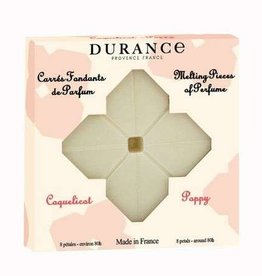 Durance Wax smeltblokjes Knappe klaproos (Poppy) (80uur)