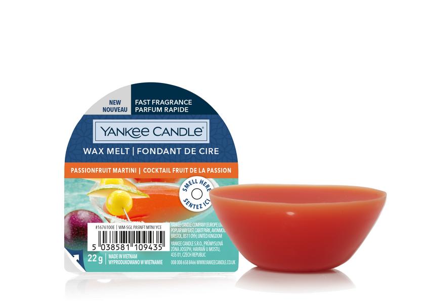 YC Passionfruit Martini New Wax Melt