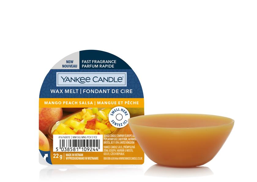 YC Mango Peach Salsa New Wax Melt