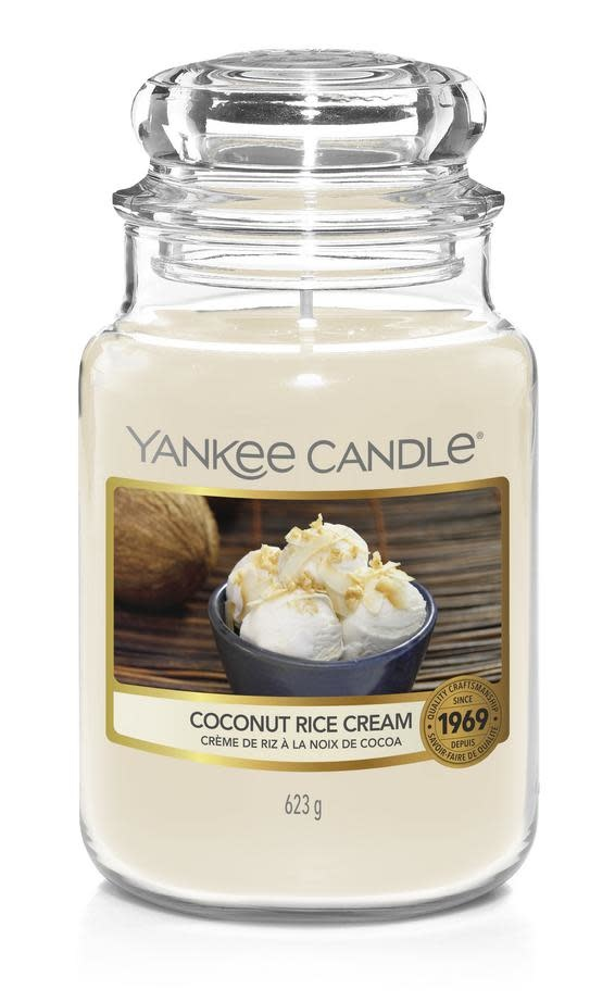 YC  Coconut Rice Cream Large Jar