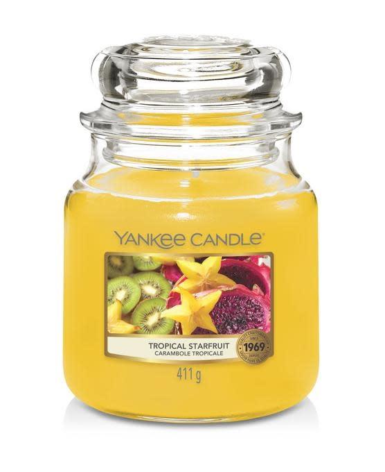 Yankee Candle Tropical Starfruit Medium Jar