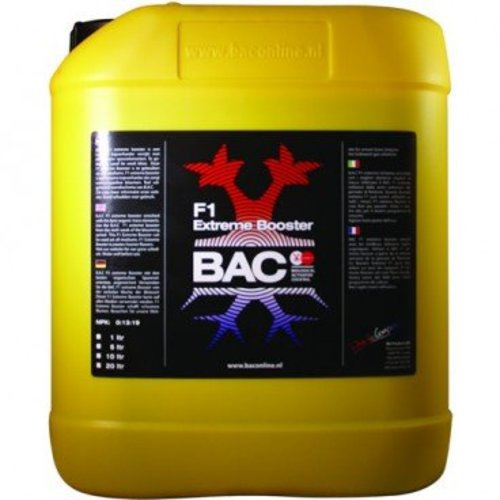 BAC F1 Extreme Booster 10 ltr