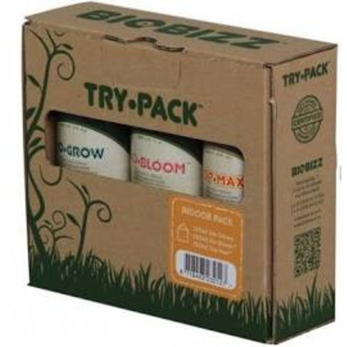 BioBizz TRY-PACK™ INDOOR-PACK