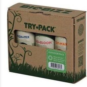 BioBizz TRY-PACK™ OUTDOOR-PACK