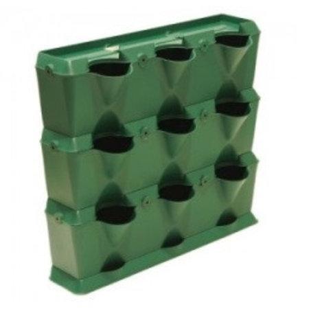 Minigarden MiniGarden Vertical, groen (54 x 63 x 13 cm)