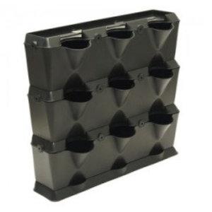 Minigarden Vertical, zwart (54 x 63 x 13 cm)