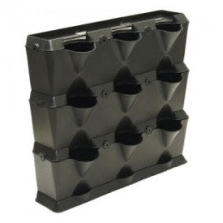 Minigarden MiniGarden Vertical, zwart (54 x 63 x 13 cm)