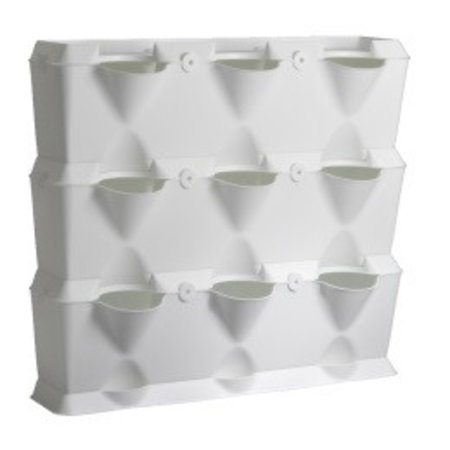 Minigarden MiniGarden Vertical, wit (54 x 63 x 13 cm)