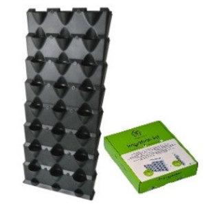 Minigarden 8 lagen inclusief irrigatiesysteem, zwart