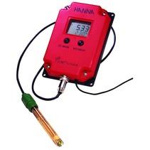 PRO pH (rood) professionele continu pH meter