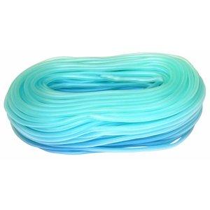 AquaKing Luchtslang blauw doorzichtig 4mm
