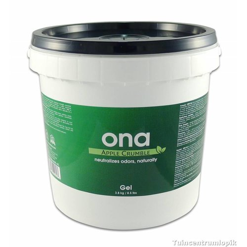 Ona Gel Apple Crumble  4 ltr