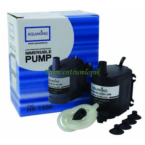 AquaKing HX-1500 Waterpomp(400 L/U)